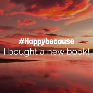 Happy Because New Book Sunset